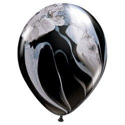 SuperAgate Black & White Balloon