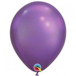 Chrome Purple Balloon