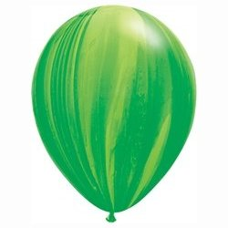 SuperAgate Green Rainbow Balloon