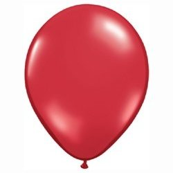Jewel Ruby Red Balloon