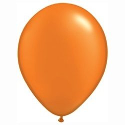 Pearl Mandarin Orange Balloon