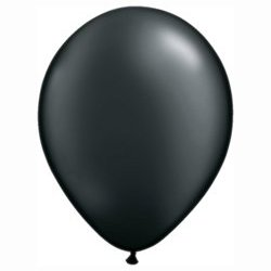 Pearl Onyx Black Balloon