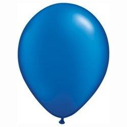 Pearl Sapphire Blue Balloon